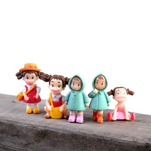 Sale Cute Cartoon Girls Lovely Mini Figures Miniatures Fairy Garden Gnome  Moss Terrarium Decor Crafts For Home Decor DIY Gift In Figurines U0026  Miniatures From ...