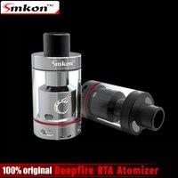 Оригинальный smkon deepfire 25 RTA распылитель 4.5 мл Ёмкость Топ наполняя воздух Управление Системы e-сигареты распылителя RTA Tank
