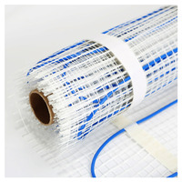 1.0sqm 160W Twin Conductor Electric Underfloor Heating Mats For Warm Floor, Wholesale P160 1.0