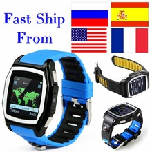 GPS Tracker T6 heart rate monitor watches phone casual digital sim bluetooth wear smart watch for