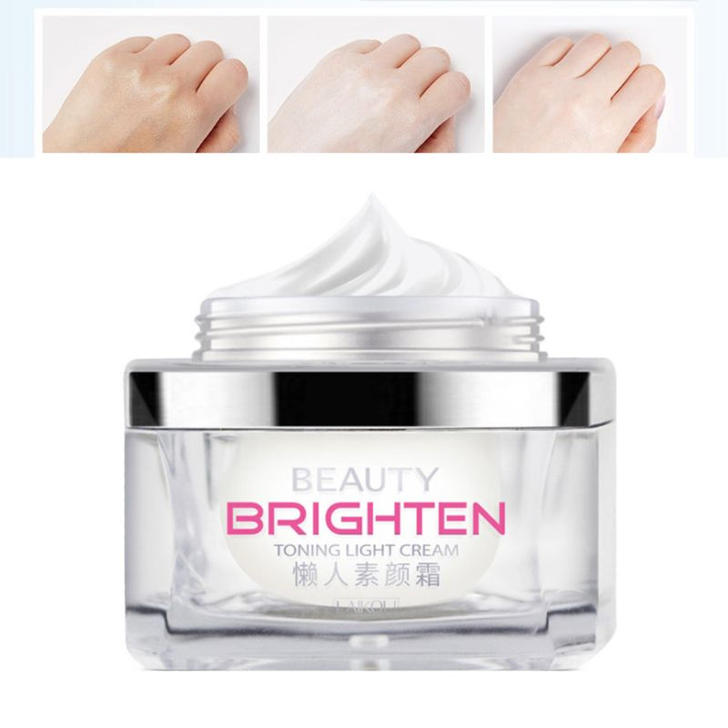 Toning Light Cream Face Concealer Whitening Pore Wrinkle Cover Without Makeup Brighten Foundation Creams Moisturizing Essence