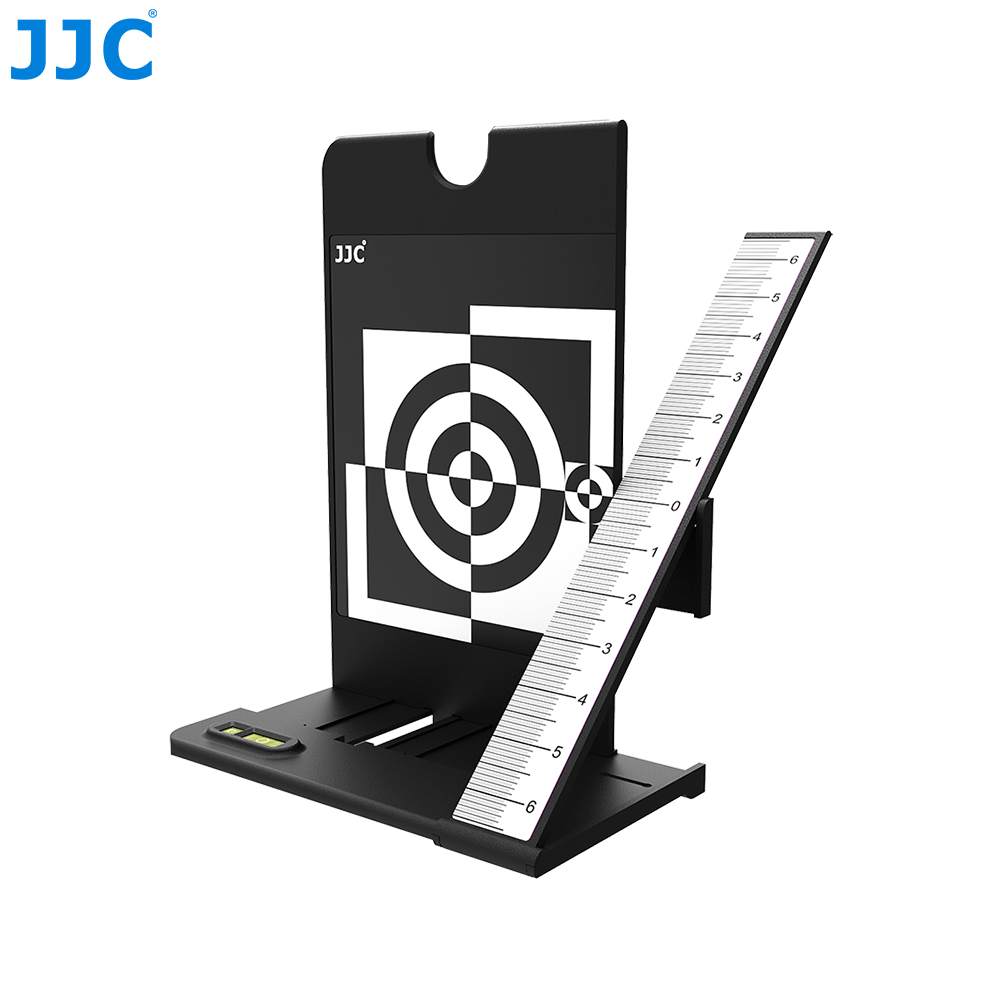 Tableau d'essai de mise au point de l'aide à l'étalonnage de l'autofocus JJC pour les caméras avec fonction