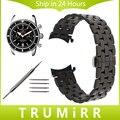 18mm 20mm 22mm pulseira curvo fim de aço inoxidável das mulheres dos homens watch band strap para breitling butterfly fivela cinto pulseira link