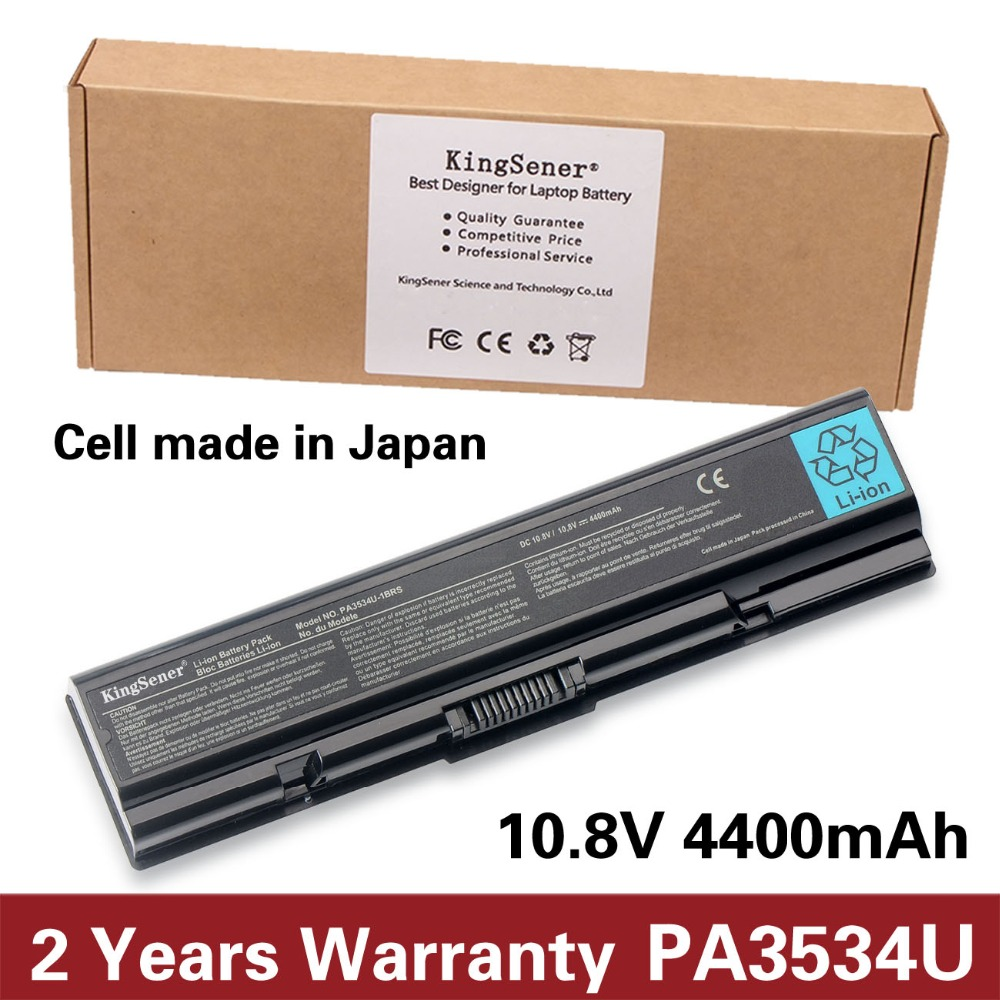 KingSener Japanese Cell New PA3534U-1BRS Battery for Toshiba Satellite A200 A210 A300 A350 L300 L500 L505 PA3533U-1BRS PA3534U цена и фото