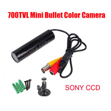 "1/3"" Sony 960H EXview HAD CCD 700TVL Effio-E 0.001Lux Mini Bullet Camera with 3.6mm Board Lens sony camera security cctv video"