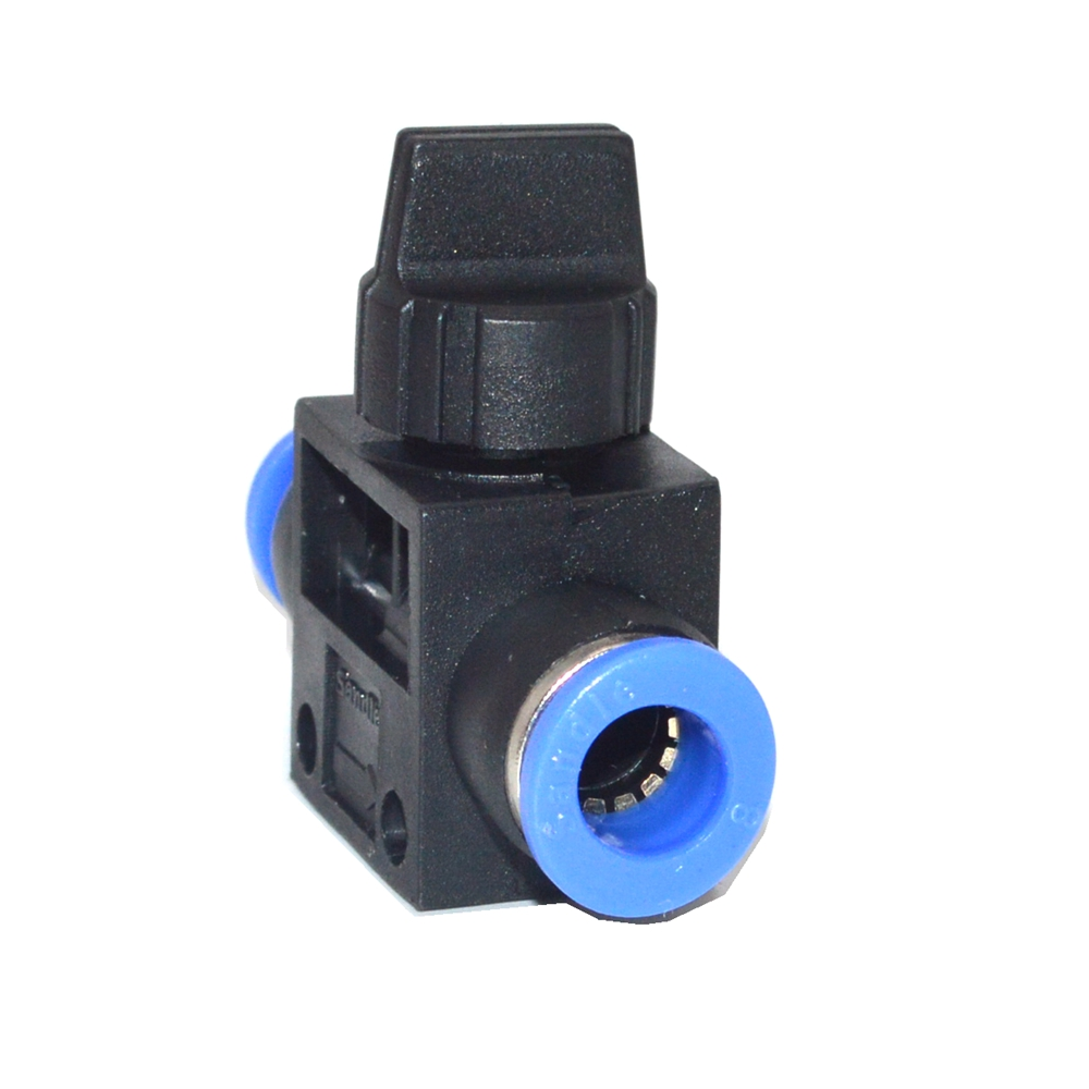 4mm 6mm 8mm 10mm 12mm quick Push in Connect Pneumatic Fitting Hand Valve + FF free shipping 10pcs lot pu 6 pneumatic fitting plastic pipe fitting pu6 pu8 pu4 pu10 pu12 push in quick joint connect
