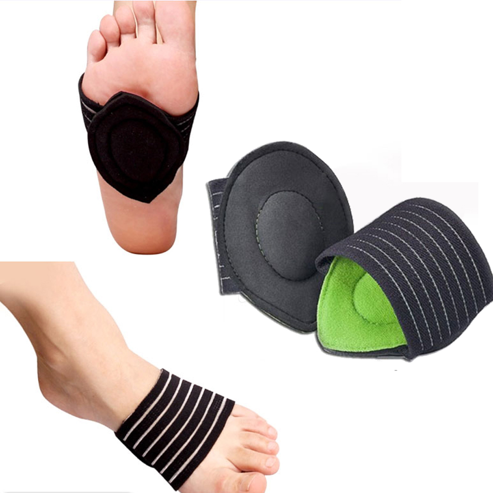 1pair Foot Insoles Arch Support Plantar Fasciitis Heel Aid Feet Cushion Fallen Heel Pain Relief Shock Healthy Poduct Hot Sale
