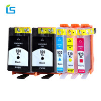 5Pcs Set 920XL Ink Cartridge Replacement For HP 920 XL Compatible For HP Officejet 6000 6500