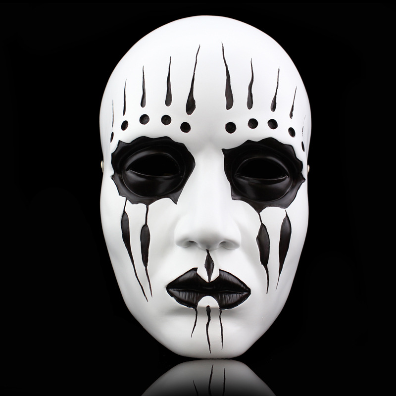 Heavy Metal Music Band Slip Joker Joe Milk Scary Masks Halloween Costumes Horror Prank Joke knot Toys Gifts