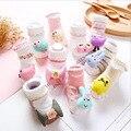 10 pares/pacote 3D Animais meias para Meias de Algodão infantil meias macias do bebê catoon coruja/coelho menino/meninas roupas primavera outono