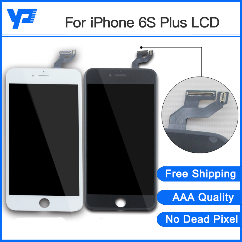 2PCS Grade AAA LCD Screen Display 5.5 inch For iPhone 6S Plus LCD Pantalla With Touch Screen Digitizer Assembly Free Shipping grade a replacement lcd glass screen ecran touch display digitizer assembly for oppo r9 plus 6 0 inch white with free tool kit