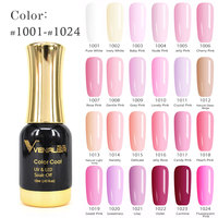VENALISA Gel Polish 12ml 111 Colors CANNI Factory DIY Soak off UV LED Organic without Smell Non-toxic Odorless Nail Gel Varnish