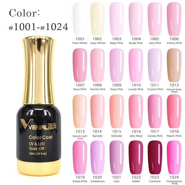 VENALISA Gel Polish 12ml 111 Colors CANNI Factory DIY Soak off UV ...