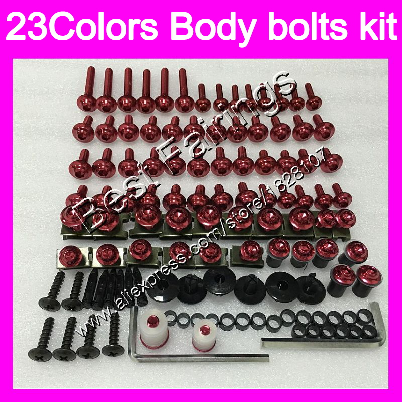 Fairing bolts full screw kit For DUCATI 659 696 795 796 797 821 1100 1100S M1000 1200 696S 795S 796S Complete Body screws Nuts