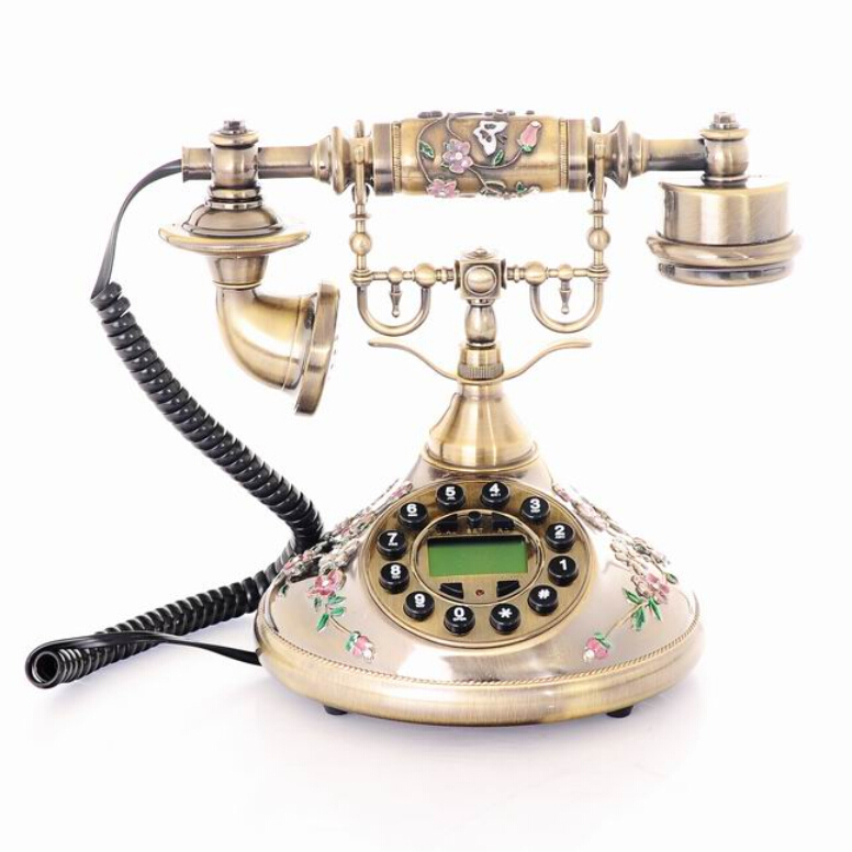 Home Decor Telephone Retro Old Style Vintage Phones For