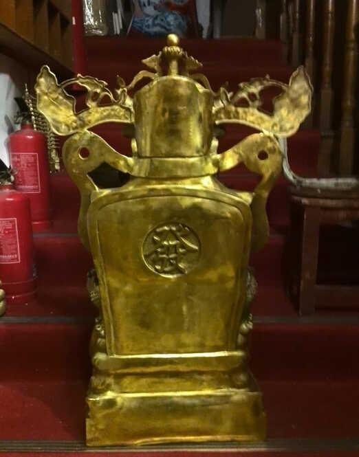 ZSR 506 + + + + + Un rame Mammona oversize 80 cm Mammona ornamenti artigianali di carta ricchezza Arredamento Per La Casa Feng Shui fortunato