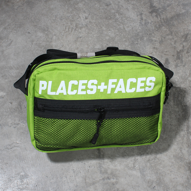 611be1ef820d 18ss women bags PLACES+FACES Pouch Bag 3M Reflective men canvas streetwear hip  hop pf Crossbody Bags Handbags shoulder waist bag-in Waist Packs from  Luggage ...