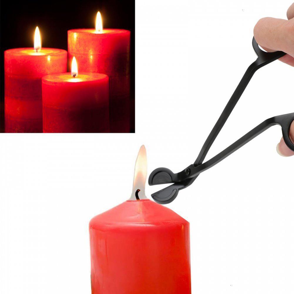 Das Beste Adeeing Schwarz Runde-kopf Candlewick Trimmer Kerze Feuer Unterscheidung Schere Wohnkultur Brieftaschen Und Halter