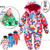 Free Shipping Sale New 2013 Autumn Winter Overalls Newborn Baby Clothes Baby Girl Cotton Bodysuits Baby