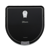 Dibea D960 RU Overseas Warehouse Robot Vacuum Cleaner Smart Wet Mopping Robot Aspirador Edge Cleaning Technology