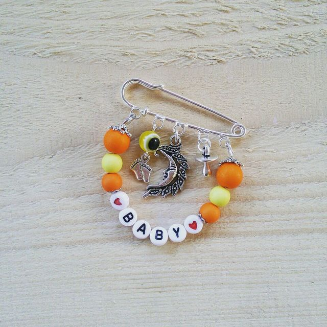 Brooch Fit Charms & Chain