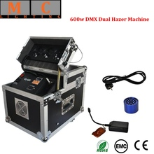 600W Dual Hazer DMX Haze Machine цена