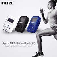 RUIZU X26 Sport Bluetooth MP3 Music Player Recorder FM Radio Support SD Card Clip Bluetooth MP3 Players 8GB Support TF Card
