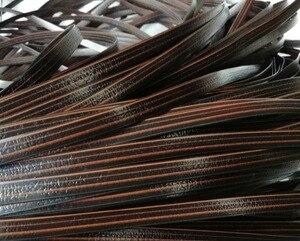 Image 4 - 65 เมตรความกว้าง: 8 มม.PE พลาสติกแบนหวายทอวัสดุถักซ่อมโต๊ะเก้าอี้หวายสังเคราะห์เทียม cane เฟอร์นิเจอร์