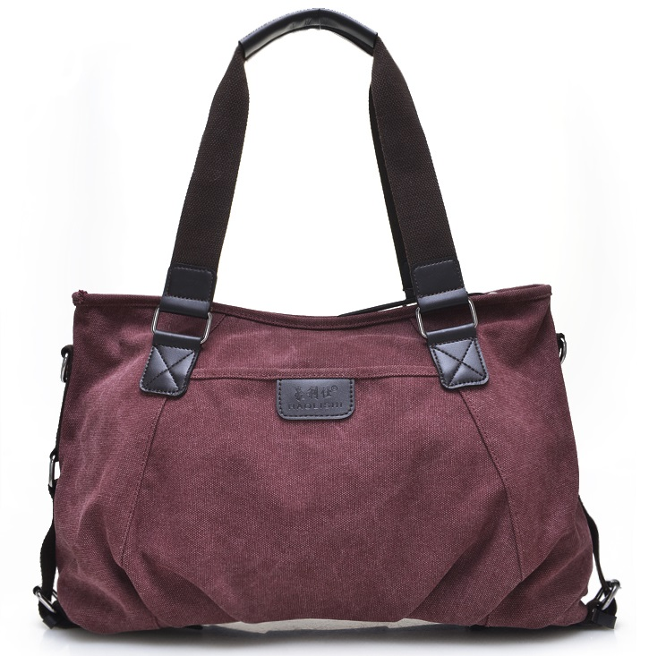 New top grade handbag women shoulder bag portable canvas Messenger bag  1066# fn01 multifunction canvas shoulder bag handbag backpack for women khaki
