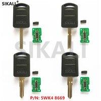 2 Buttons Car Remote Key For 5WK48669 AGILA MERIVA ASTRA CORSA C COMBO VAN TIGRA VECTRA