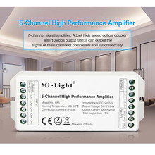 Miboxer DC12V/24V PA5 15A 5-Channel High Performance Amplifier,Series Controller And all PWM Type Led
