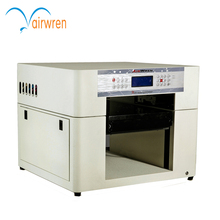 High resolution 5760X1440dpi  A3 size  6 color UV printer customized add height  for glass printing
