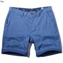 Hot 2019 Casual Summer Easy Shorts Men Cotton Decorative Pat
