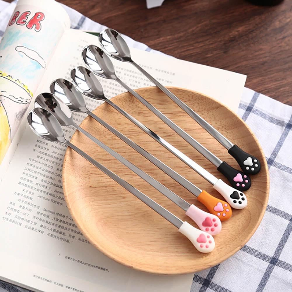XR6_1-Pz-Acciaio-Inox-Carino-Cat-Artiglio-Caffè-Cucchiai-Frutta-Forchetta-Dessert-Cucchiaio-Caramelle-Tè-Cucchiaio (1)