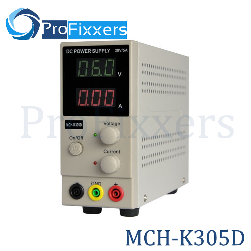 New Design MCH-K305D Mini Switching Regulated Adjustable DC Power Supply SMPS Single Channel 30V 5A Variable MCH K305D цена