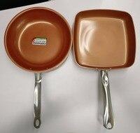 Non-stick Copper Frying pan Non-stick Skillet with Ceramic Coating Ceramic Pan Gotham Steel Copper Pan Ceramica Saucepan