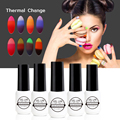 GEL LAB 7ml Tri-Color Gel Nail Polish Temperature Changing Color Gel UV LED Lamp Pick 1 from 32 Colors All for Manicure