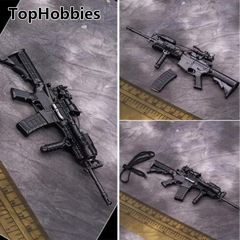 1/6 Scale Action Figure M4 Rifle Gun Model US Navy Rivers Weapon Model VH 1032 Toy for Soldier Action Figure