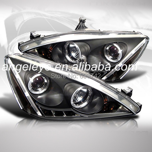 Pour HONDA Accord LED lampe frontale ange yeux V2 Type 2005 à 2007