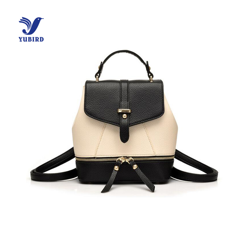 Fashion PU Leather font b Women b font font b Backpack b font Casual School Bags