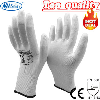 2020 Guantes Trabajo 24 Pcs Safety Anti-static Pu Gloves Anti Static Electronic Industrial Esd Work Finger - discount item  35% OFF Workplace Safety Supplies