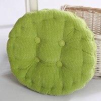 جولة السرير غرفة المعيشة وسادة كرسي حصيرة وسادة خضراء اللون شحن مجاني التجزئة والجملة