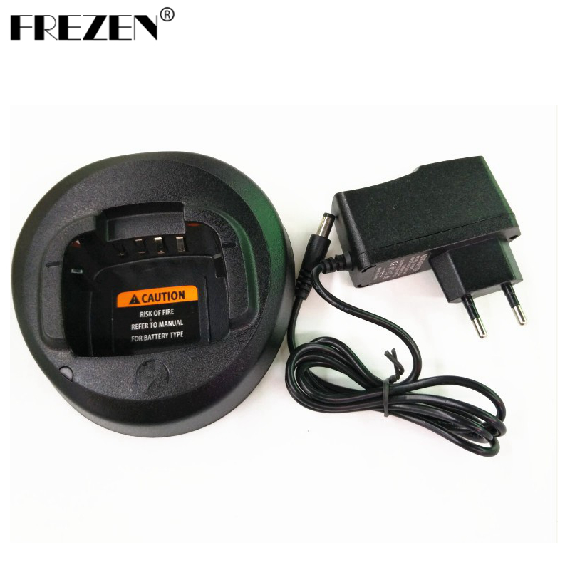 Black Ni-MH Battery Charger For Motorola Walkie Talkie CP185 EP350 CP476 CP477 CP1300 CP1600 CP1660 P140