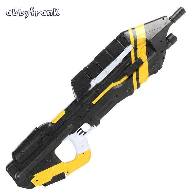 Abbyfrank Ma5c électrique Jouet Pistolet Avec Halo Mitraillette Eau