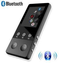 Новинка 2017 года Металл Bluetooth MP4-плеер 8 ГБ 1.8 дюймов Экран играть 50 часов с fm Радио E-Book аудио-видео плеер Портативный walkman