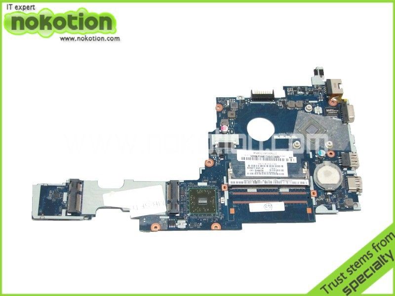 NOKOTION LA-7071P MBSFT02001 laptop motherboard for acer aspire one 722 C60 DDR3 Mainboard Good Tested mbpec0b009 motherboard for acer aspire 3810t 3810tg 3810tz 6050a2264501 su2700 cpu tested good