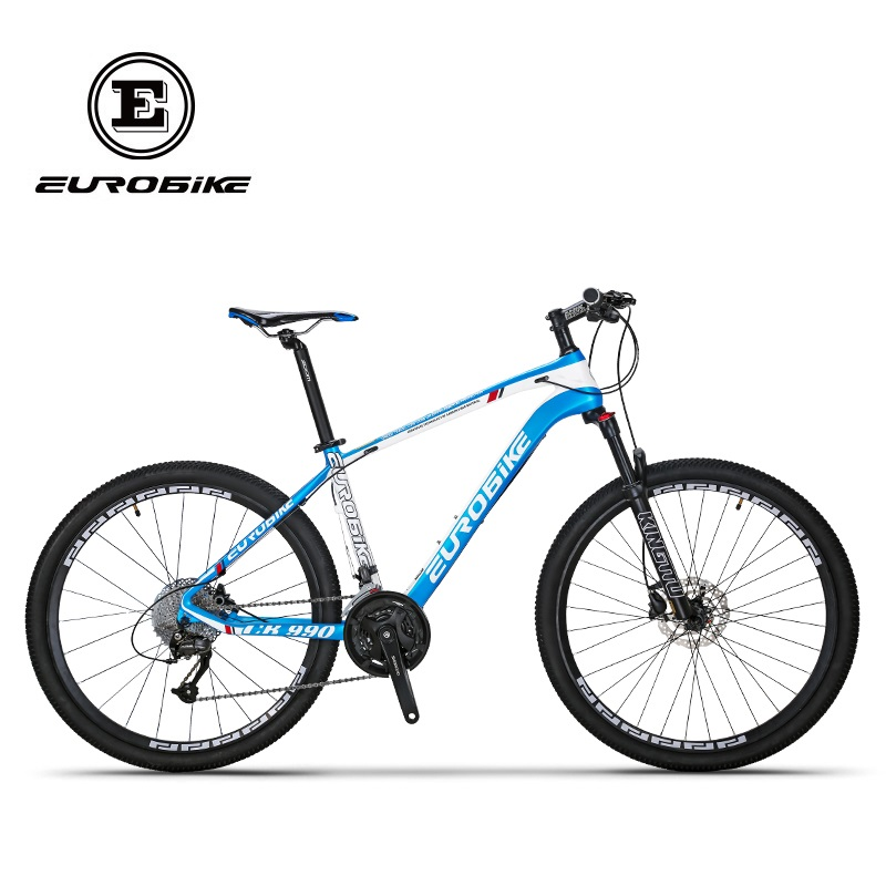 EUROBIKE EUROBIKE 27 5 Inches Carbon Fiber 27speed MOUTAIN BIKE Double Brake Mens font b BICYCLE