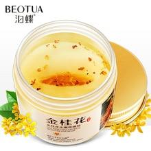 80 Pcs/ bottle Gold Osmanthus Eye Mask Nourish Moisturizing Gentle Skin
