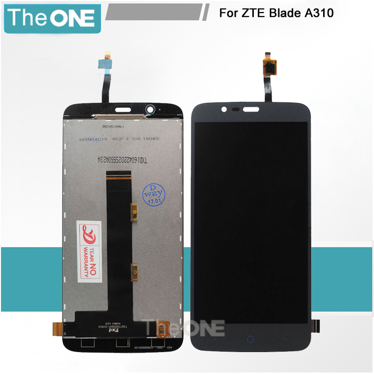 Подробнее о White/Black For ZTE Blade A310 LCD Display + Touch Screen Digitizer Assembly Replacement Free shipping + Order tracking white black for zte blade a610 td lte lcd display touch screen digitizer assembly replacement free shipping