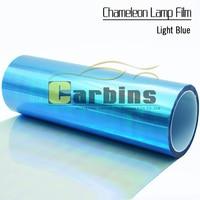 Car styling chameleon car headlight PVC vinyl wrap film , lamp color tuning sticker for car fog light taillight